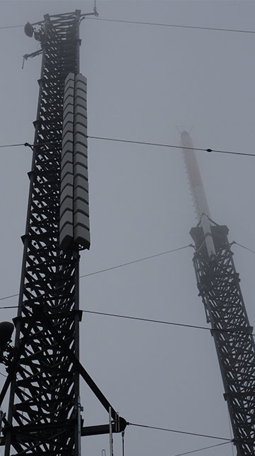 Mounting Broadcast Towers